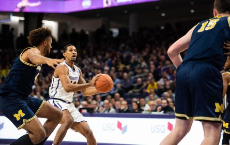 Men's Basketball: NU returns from 15 point deficit only to fall by two to No. 5 Michigan