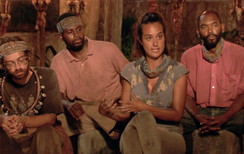 Christian, Davie, Angelina and Carl — four competitors in