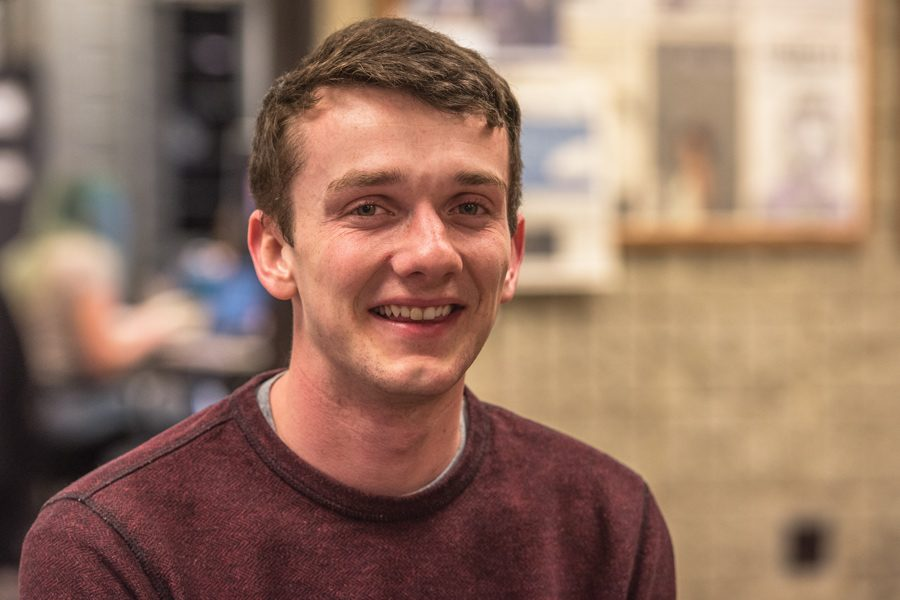 Weinberg senior Broderick Topil. Topil is a student ambassador at ULA, where he focuses on issues of LGBTQ identity abroad.