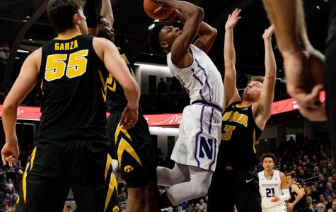 Men's Basketball: Northwestern falls to 1-4 in the Big Ten, loses to Iowa 73-63