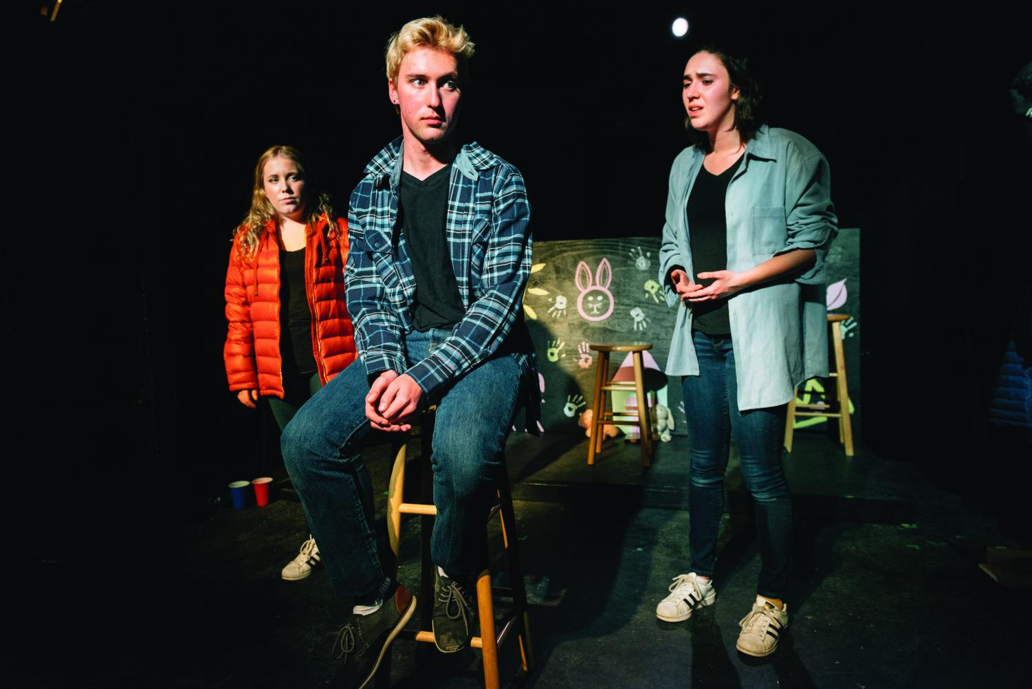 "Allyson Snyder's devised work, ""Roots and Wings,"" follows three characters in their journeys to find a sense of home. Her piece is one of three short plays in Spectrum Theatre Company's ""Collaboration and Creation Series."""