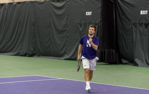 Men's Tennis: After losing to Alabama on Friday, Northwestern defeated Auburn on Sunday for its first win of the year
