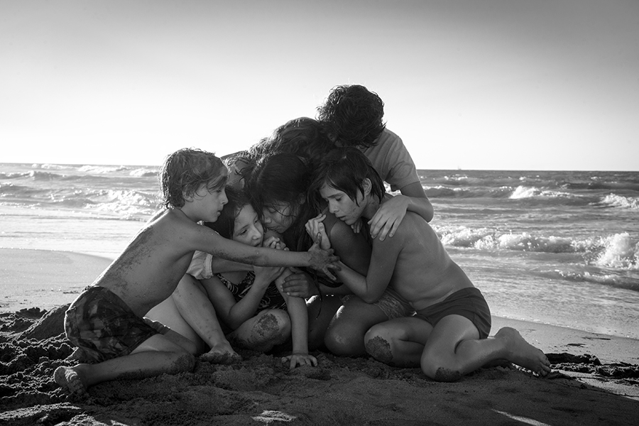 "A still from Netflix's ""Roma,"" written and directed by Alfonso Cuarón."