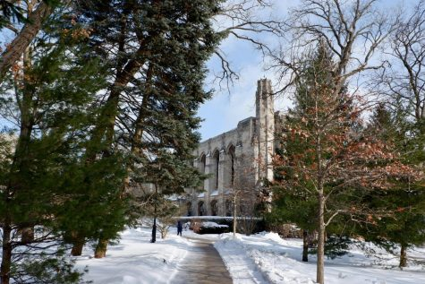 Captured: Snowy days at Northwestern before record-breaking low temperatures