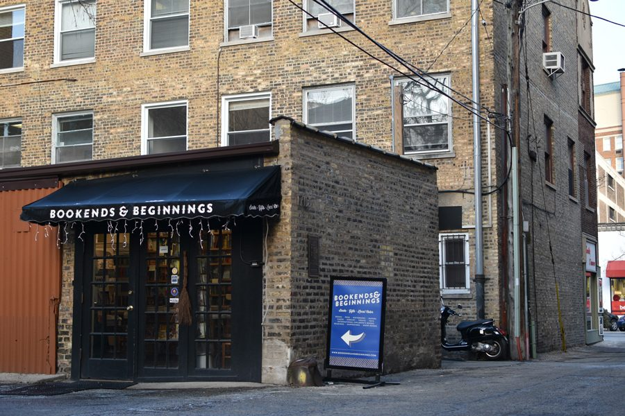 Bookends+%26+Beginnings%2C+1712+Sherman+Ave.+The+bookstore%E2%80%99s+owner%2C+Nina+Barrett%2C+said+rising+rent+prices+in+Evanston+are+intimidating+to+local+retail+businesses.