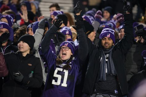 Northwestern 'shrieker,' upon being silenced, briefly becomes a quasi-celebrity