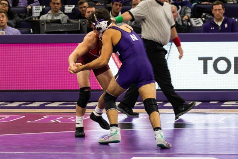 Wrestling: Northwestern blown out by No. 1 Penn State, falls to 2-5 on the season