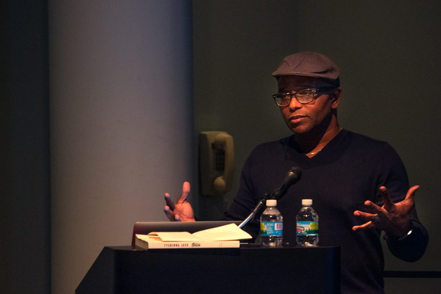 Tyehimba+Jess+reads+his+poems.+The+poet+said+he+likes+to+tell+less-known+stories+from+history.