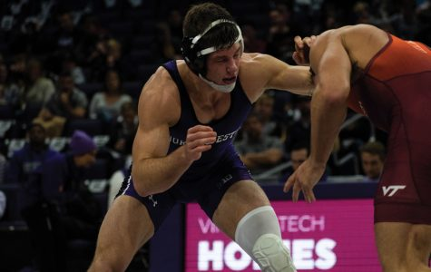 Wrestling: Northwestern overwhelmed by No. 4 Iowa