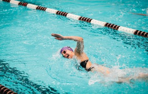 Swimming: Northwestern women split with Iowa and Wisconsin while the men fall twice