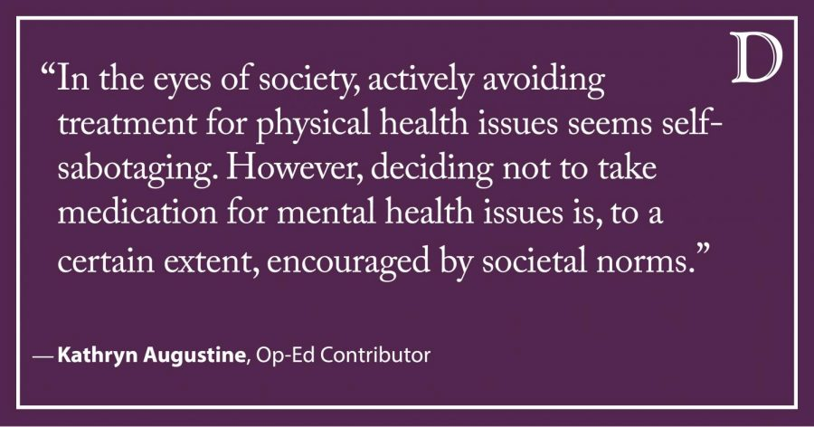 Augustine: We need to erase the stigma surrounding psychiatric medication