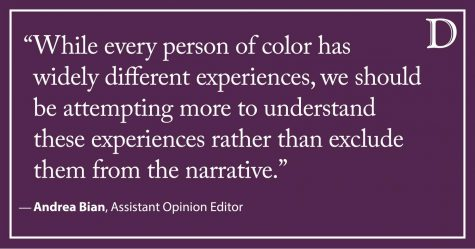 The Spectrum: Saying Asians aren't people of color is oppression in itself
