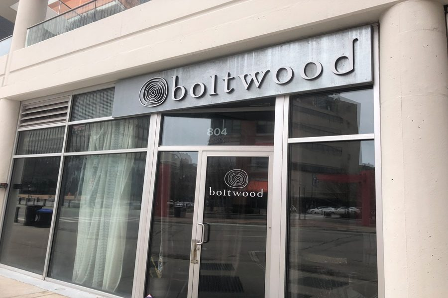 Boltwood, which used to be located at 804 Davis St. The restaurant closed December 31, after owner Brian Huston decided not to renew the lease