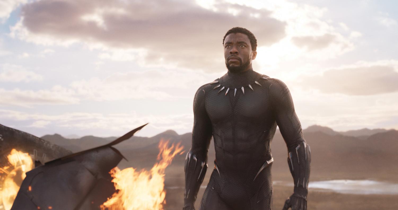 "Chadwick Boseman stars as T'Challa in Ryan Coogler's superhero masterpiece, ""Black Panther."""