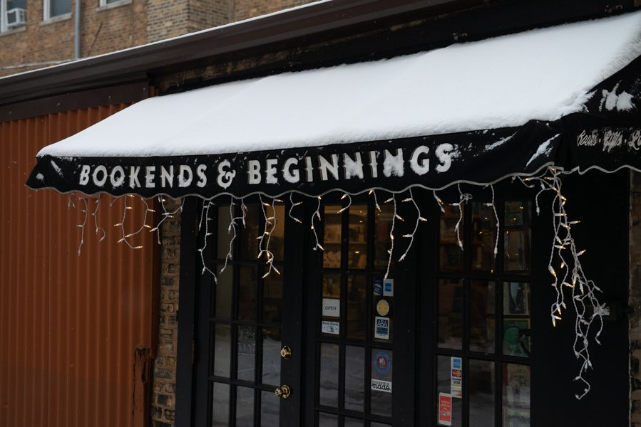 """Bookends and Beginnings, 1712 Sherman Ave. The bookstore hosted Karen Babine to discuss her book """"All the Wild Hungers: A Season of Cooking and Cancer."""""""