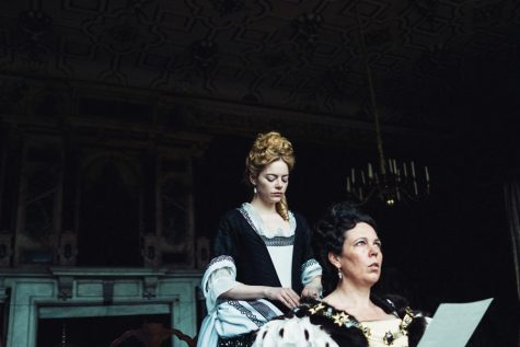'The Favourite' deserves victory with its command of satire and absurdism