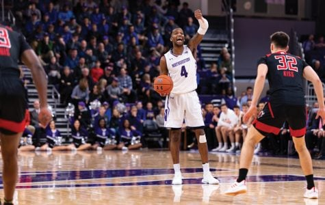 Men's Basketball: Northwestern suffers its second straight heartbreaker 59-56 against Rutgers