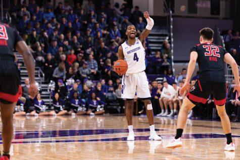 Men's Basketball: Northwestern suffers its second straight heartbreaker 59-56 against Rutgers
