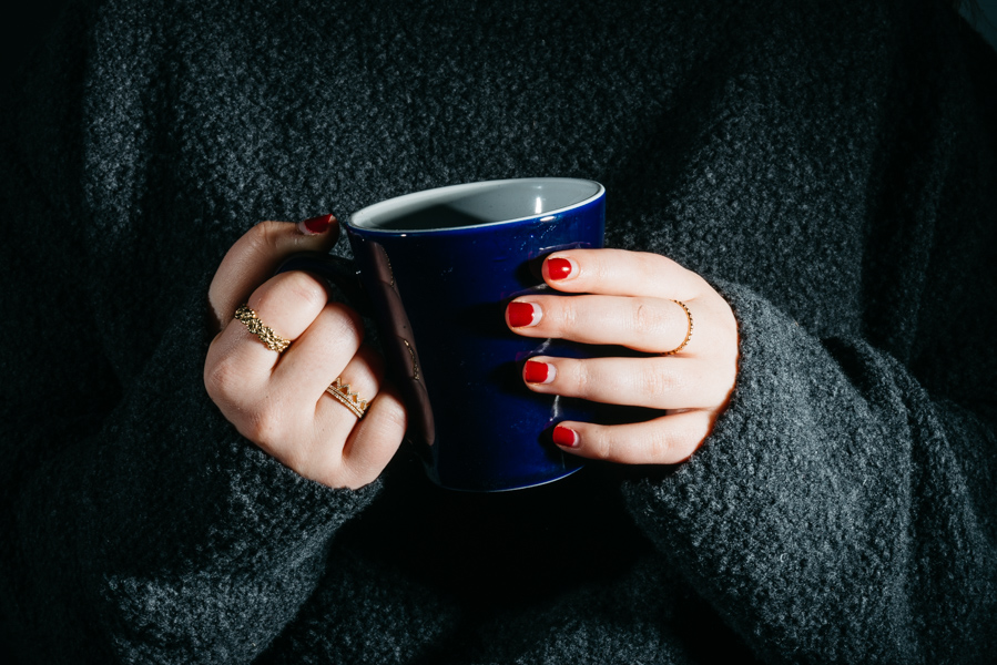 Sweaters and hot beverages are an important part of hygge. Downtown Evanston kicked off the first Hygge Fest this weekend.