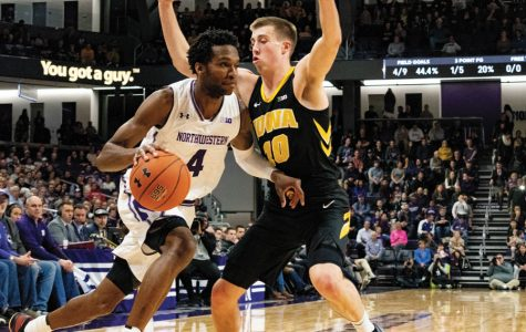 Men's Basketball: Last-second shot from Bohannon dooms Northwestern in 80-79 loss to No. 20 Iowa