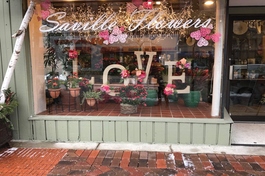 Saville Flowers, 1714 Sherman Ave. Saville is one of many Evanston businesses preparing for one of the biggest marketing holidays of the year: Valentine's Day.