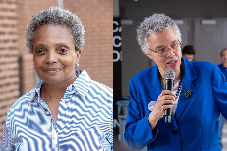 Lori Lightfoot and Toni Preckwinkle will compete in a runoff for the Chicago mayoral election April 2.