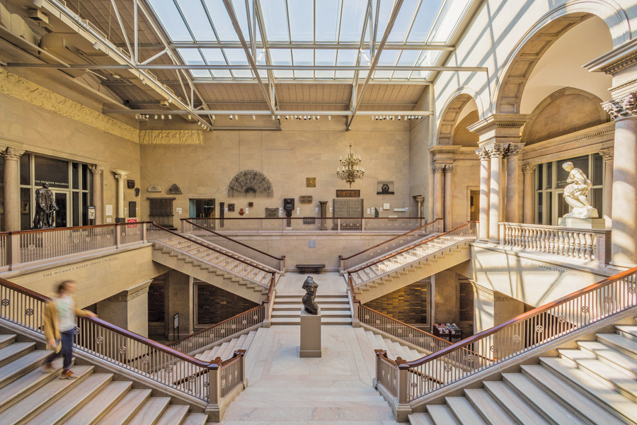 Many of the Midwinter performances will take place on the Grand Staircase of The Art Institute of Chicago. Festival-goers can purchase add-on tickets to concerts in Griffin Court, Rubloff Auditorium, The Stock Exchange and Fullerton Hall.
