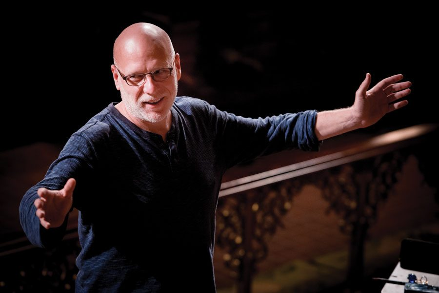 """Conductor Donald Nally and chamber choir The Crossing have received three consecutive Grammy nominations. This year, their piece """"Zealot Canticles"""" is nominated for Best Choral Performance."""