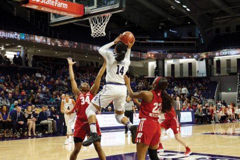 Women's Basketball: Kunaiyi-Akpanah shatters 1,000-rebound record despite Wildcats' loss to Cornhuskers