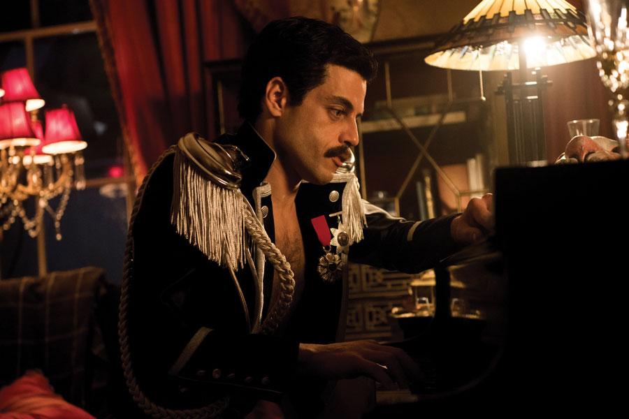 "Rami Malek stars as Freddie Mercury in ""Bohemian Rhapsody,"" which chronicles Queen's first 15 years in the rock scene."