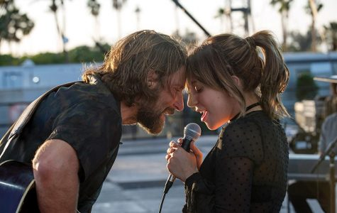 """Bradley Cooper and Lady Gaga sing """"Shallow"""" in one of the film's climactic moments."""