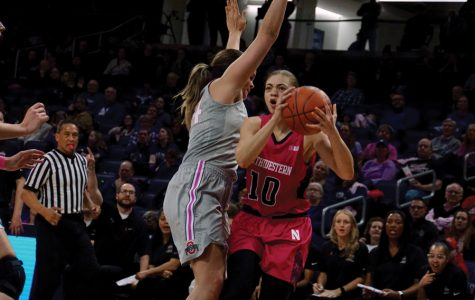 Women's Basketball: Northwestern falls 61-58 to Purdue on last-second shot