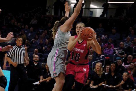 Women's Basketball: Northwestern falls 61-58 to Purdue on last-second shot