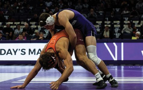 Wrestling: Northwestern falls to No. 6 Ohio State