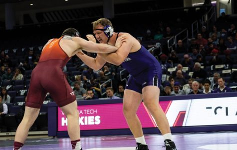 Wrestling: Northwestern dominates SIUE, wins for first time at the new Ryan Fieldhouse