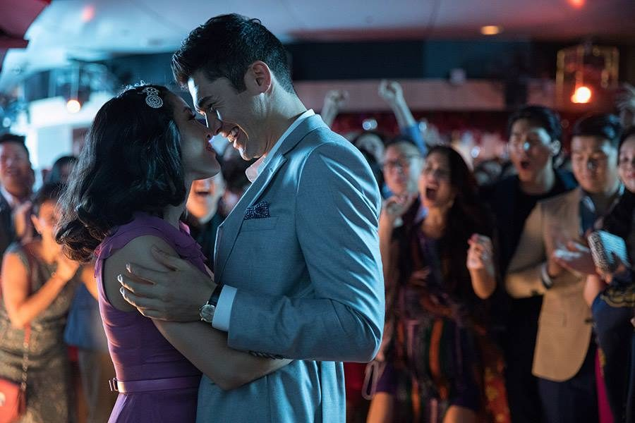 "Constance Wu and Henry Golding in the box-office hit ""Crazy Rich Asians,"" directed by Jon M. Chu."