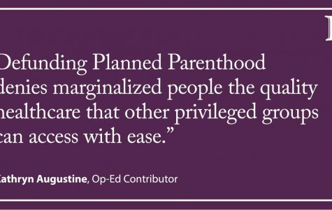 Augustine: Defunding Planned Parenthood hurts marginalized communities