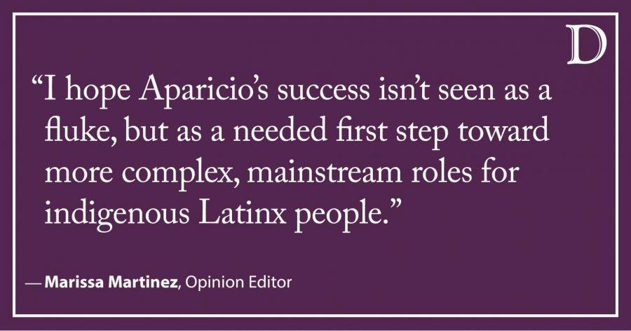 Martinez: What Yalitza Aparicio's role means for indigenous representation