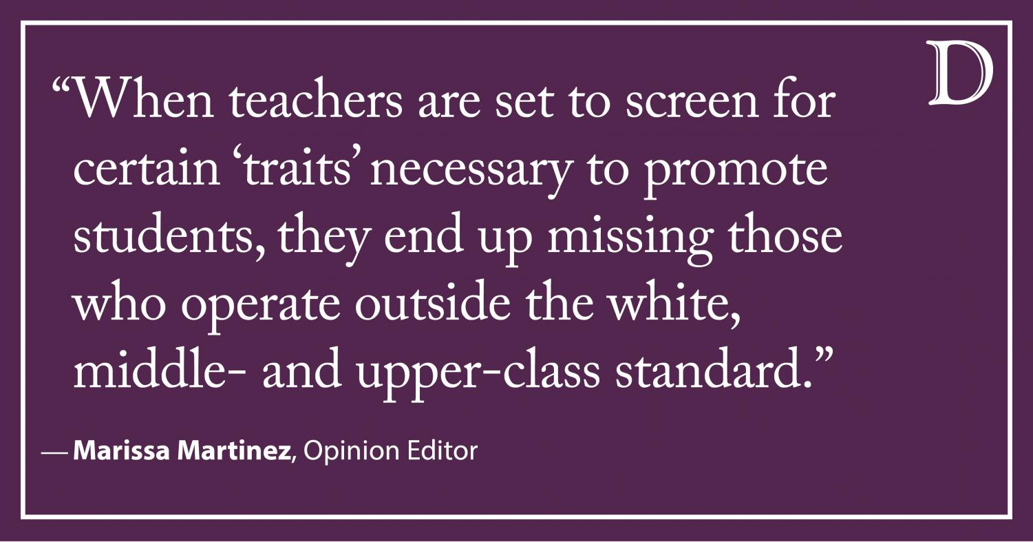 Discrimination In Gifted Education Must >> Opinion Gifted Education Is Systematically Denied To Minority Students