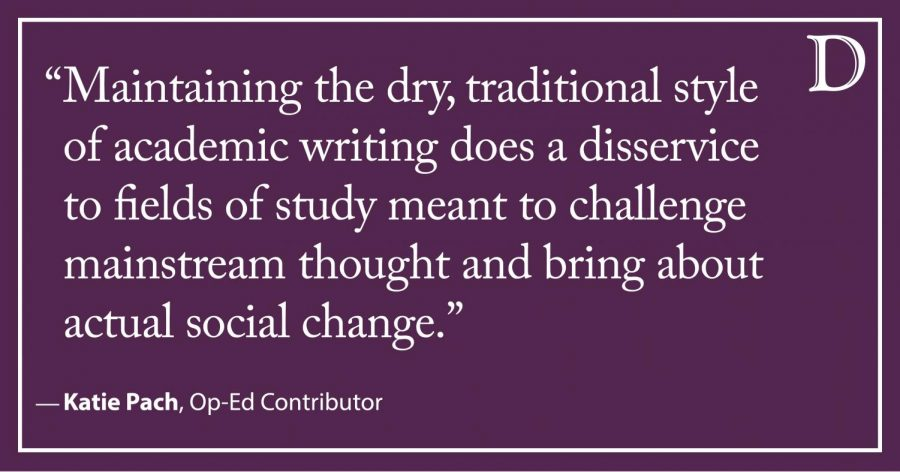 Pach: Academic writing needs to be more accessible