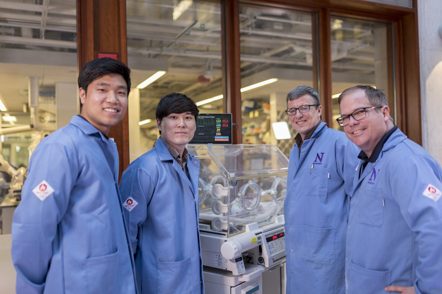 A team of Northwestern researchers have recently developed a new sensor to monitor premature newborns' vital signs. The project has been in the works for four years