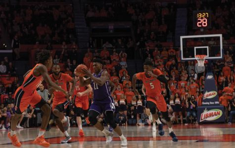 Men's Basketball: Wildcats fall on the road to downstate rival Illinois 72-63