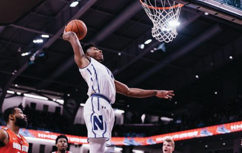Men's Basketball: Joy in Mudville as Northwestern beats Ohio State