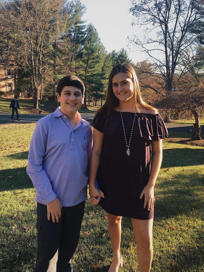 "Medill freshman Lia Assimakopoulos and her younger brother William, who was diagnosed with autism when he was two years old. Her first book, ""Life in Letters,"" details the experiences of her brother and other non-speaking autistic children."