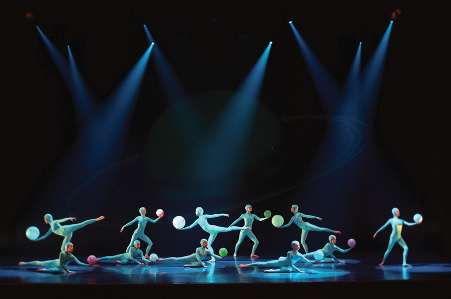 "Evanston Dance Ensemble originally presented ""Space Odyssey: the solar system in dance"" in 2001. The ensemble will reprise the show March 14 through 17 in the Josephine Louis Theater."