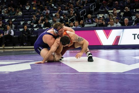 Wrestling: Northwestern heads into Big Ten Tournament in Minnesota on a high note
