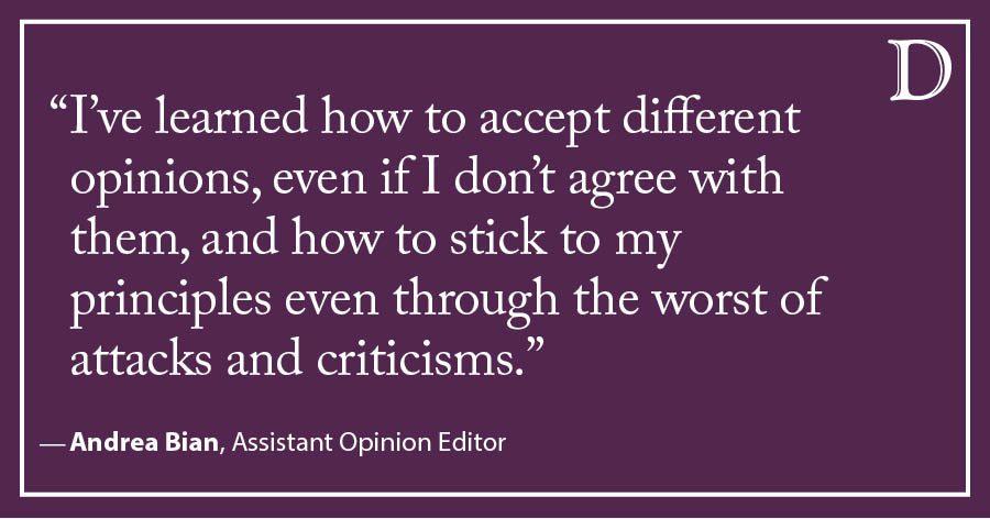 "Bian: Saying goodbye to the ""unbiased journalist"""