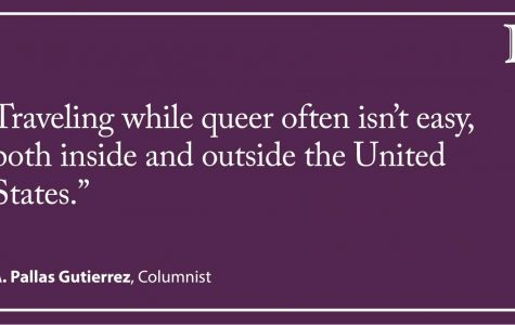 Gutierrez: Navigating spring break plans as a queer person
