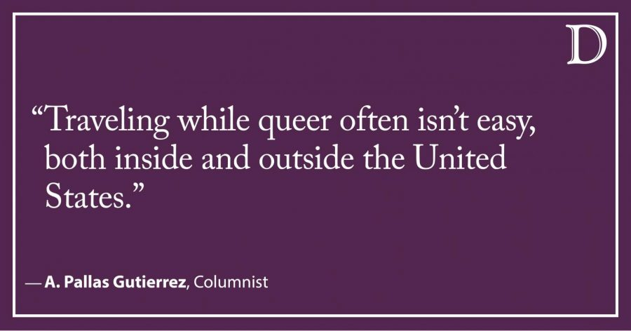 Gutierrez: Navigating spring break plans as a queer person