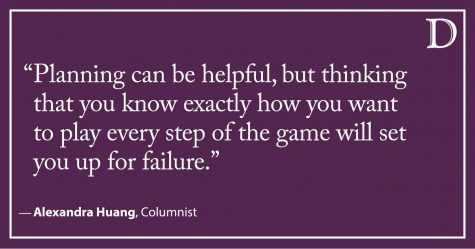 Huang: Why I stopped chasing time